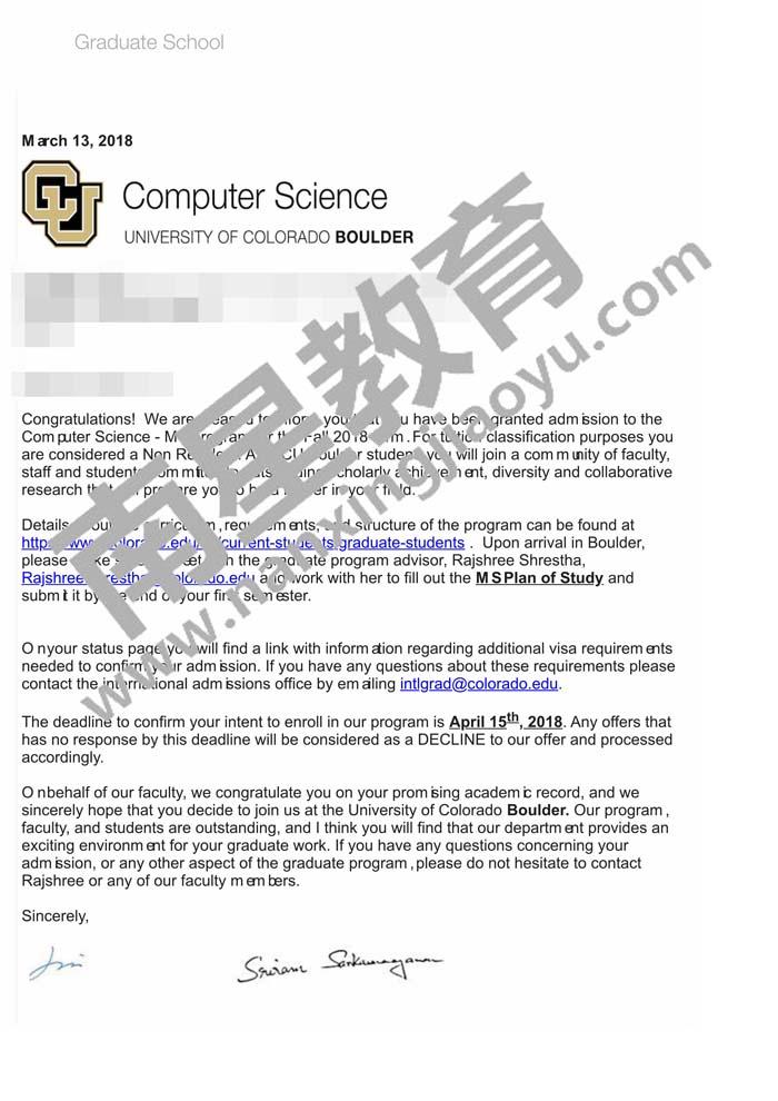 科罗拉多大学计算机科学最新成功案例