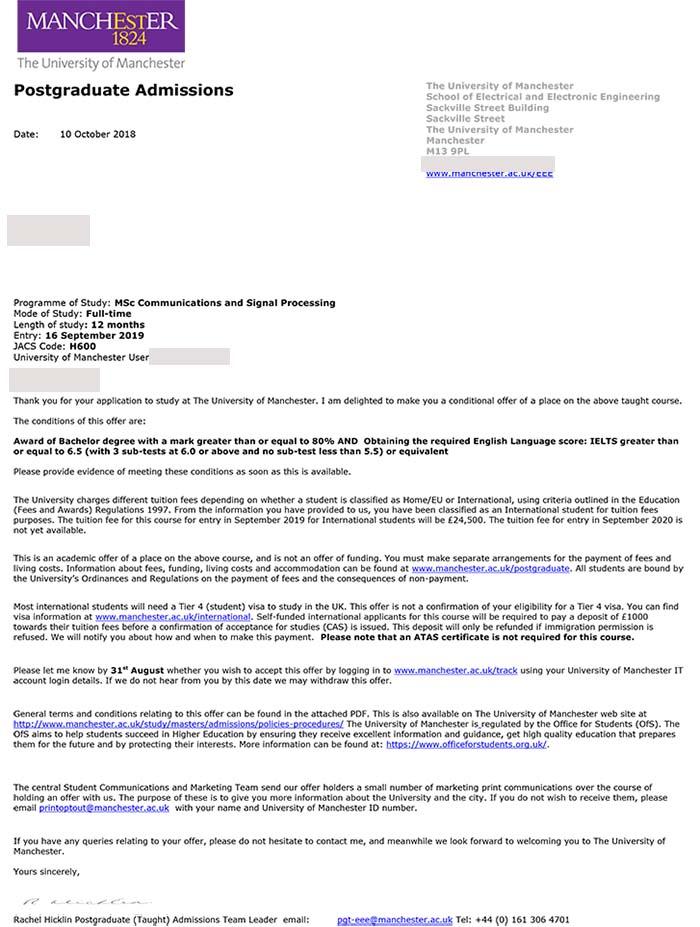 曼彻斯特大学CSP最新成功案例