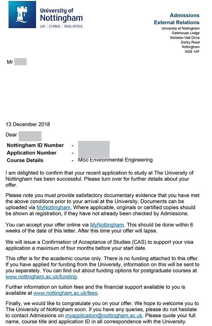 诺丁汉大学环境工程最新成功案例