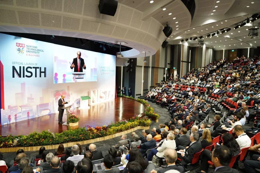 NTU一个新学院的诞生!新加坡副总理为科技与人文社会研究院开幕...